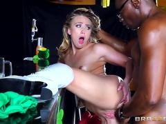 Beauteous Platina I Applegate Mít Vášnivý Interracial Sex
