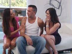 Hot Sex Video Material With A Film Kendra, Keiran Lee And Ariella Ferrera