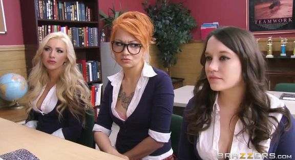 Brunette threesome video brazzers teachers use tough love