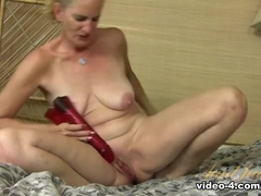 Heavenly Breast Is A Mature Woman Playing Herself